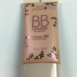 100% Pure BB Cream 20 Aglow Natural Makeup